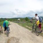 Відпочинок на велосипеді в горах, для активних людей