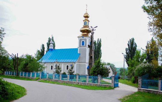 Миколаївська церква, Чинадієво